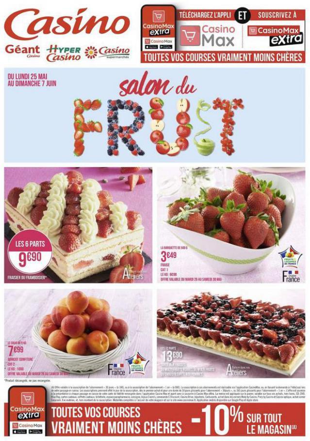 Salon du fruit . Géant Casino (2020-06-07-2020-06-07)
