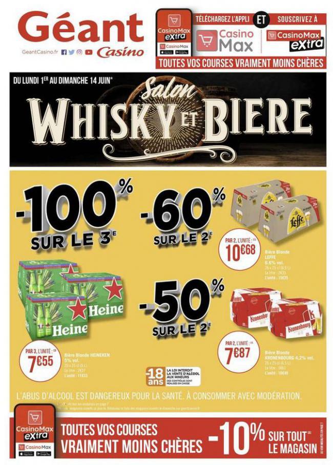 Salon Whisky et bière . Géant Casino (2020-06-14-2020-06-14)