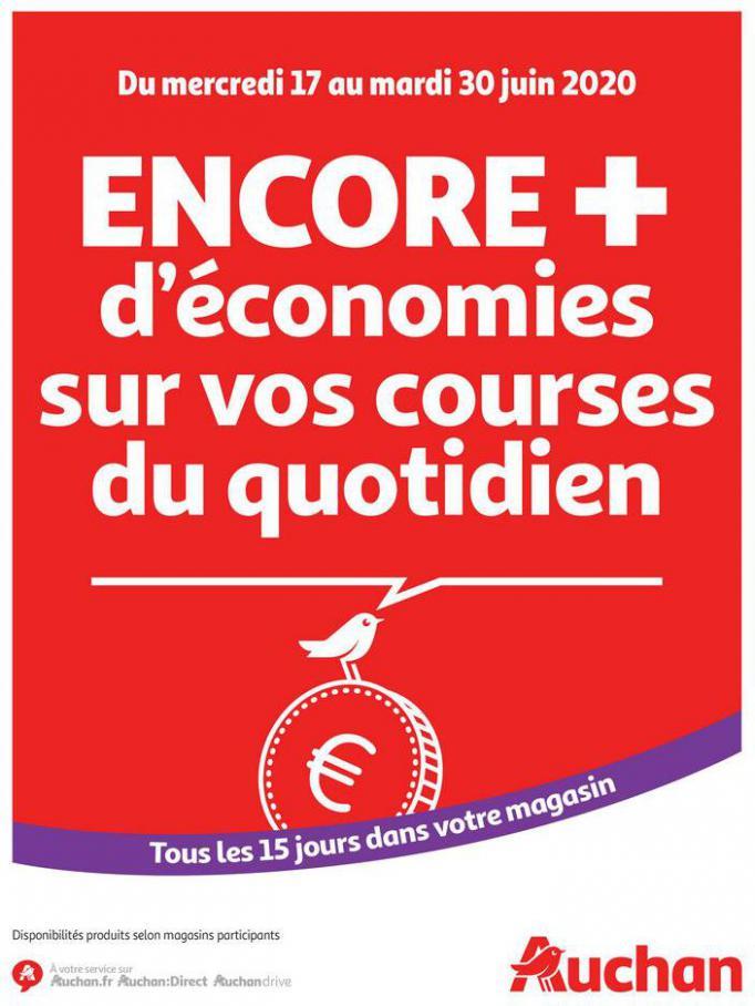Des économies au quotidien . Auchan (2020-06-30-2020-06-30)