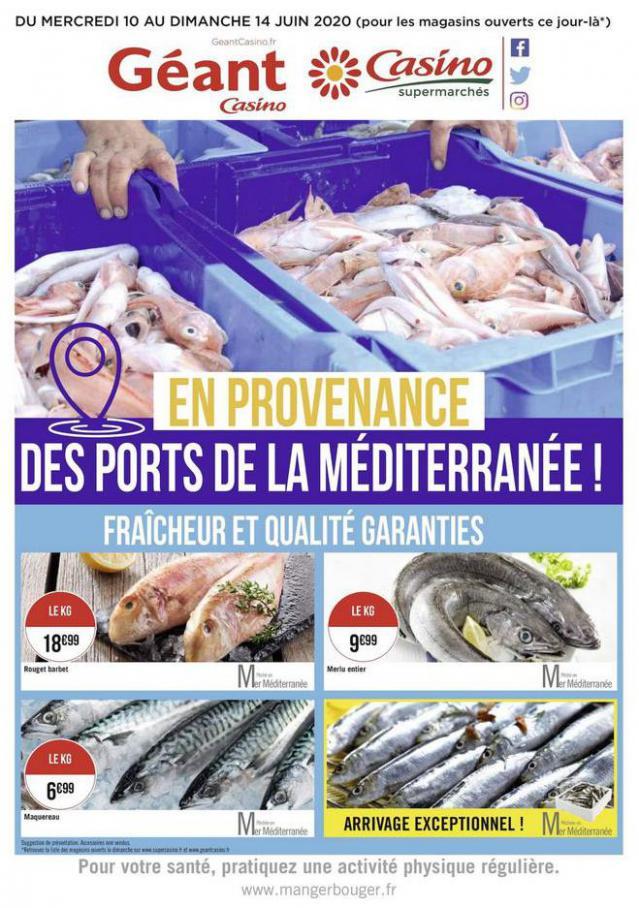 Fraîcheur et qualité garanties . Géant Casino (2020-06-14-2020-06-14)