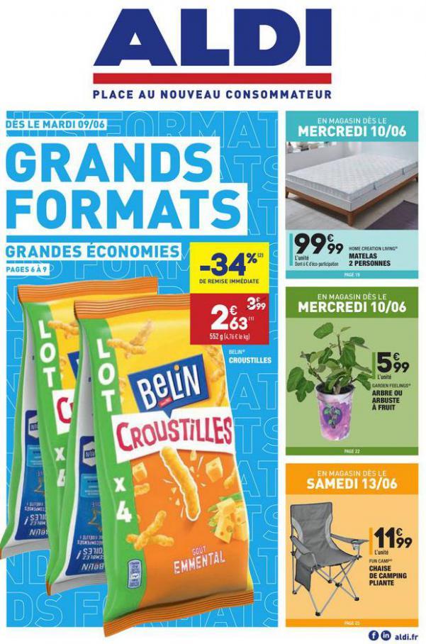 Grands Formats Grandes Économies . Aldi (2020-06-15-2020-06-15)