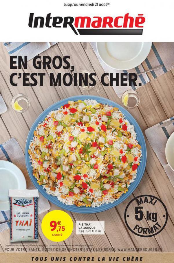 EN GROS, C'EST MOINS CHER. . Intermarché (2020-08-21-2020-08-21)