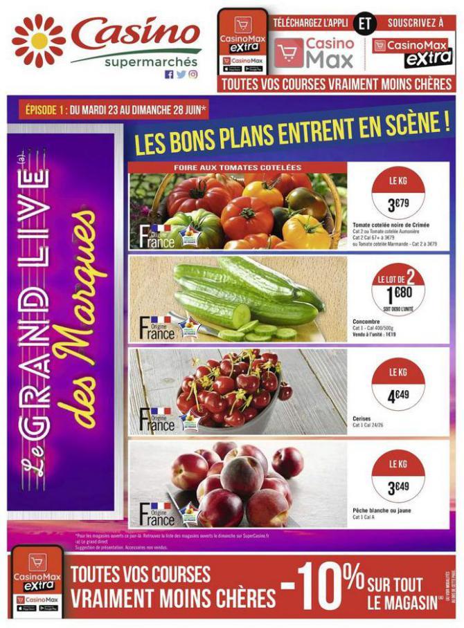 Les bons plans entrent en scène ! . Casino Supermarchés (2020-06-28-2020-06-28)