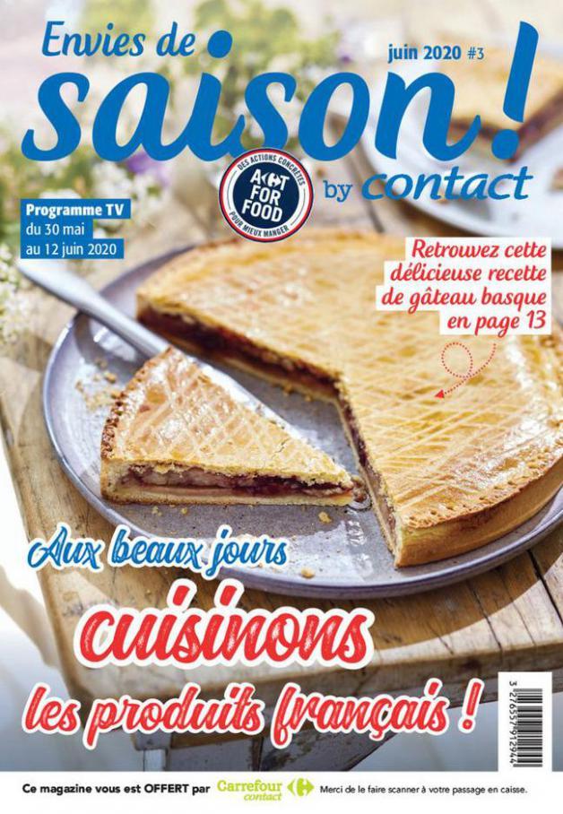 Contact Hebdo S17  . Carrefour Contact (2020-06-12-2020-06-12)