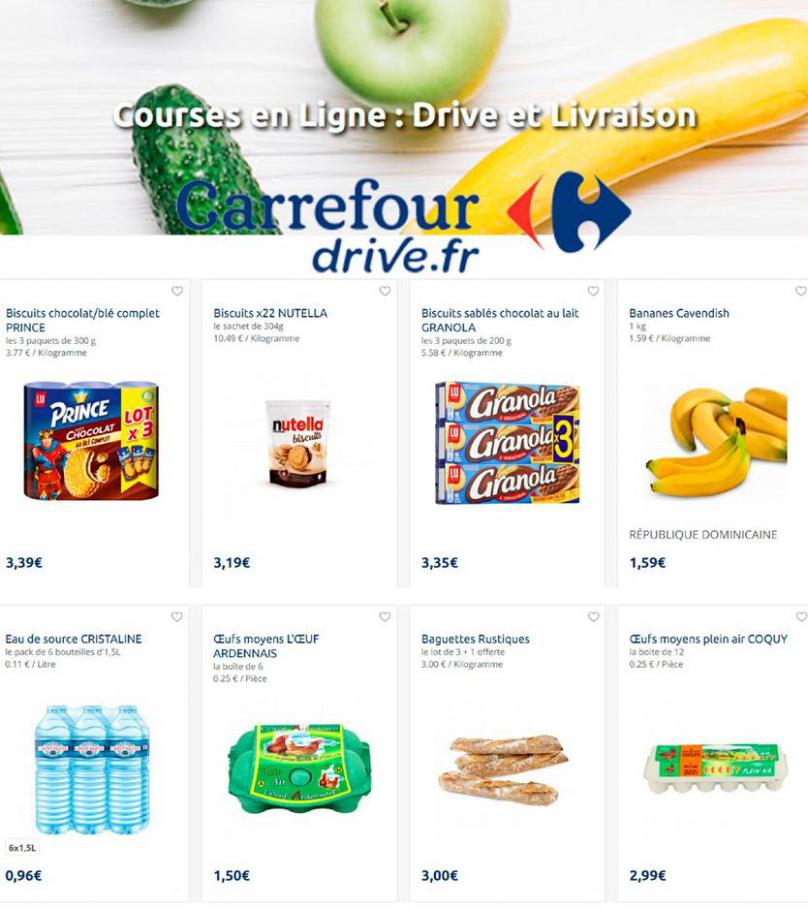 Offres Carrefour Drive . Carrefour Drive (2020-07-20-2020-07-20)