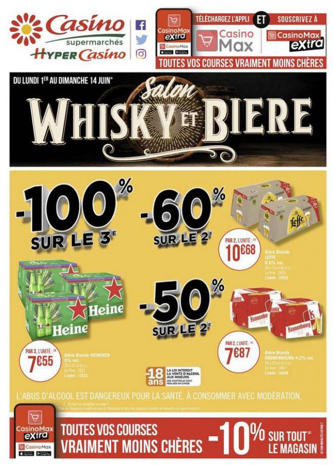 Salon whisky et bière . Casino Supermarchés (2020-06-14-2020-06-14)