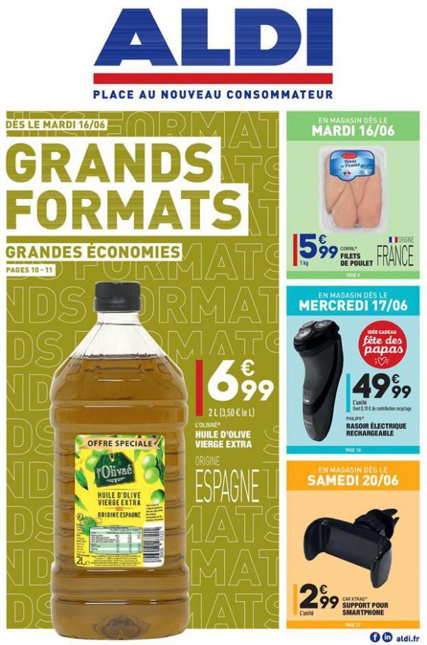Grands formats . Aldi (2020-06-22-2020-06-22)