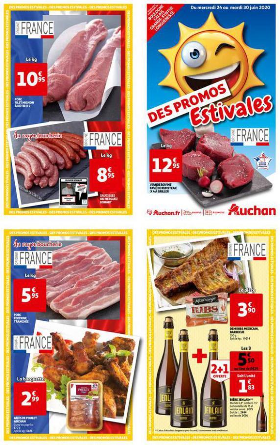 DES PROMOS ESTIVALES . Auchan Direct (2020-06-30-2020-06-30)