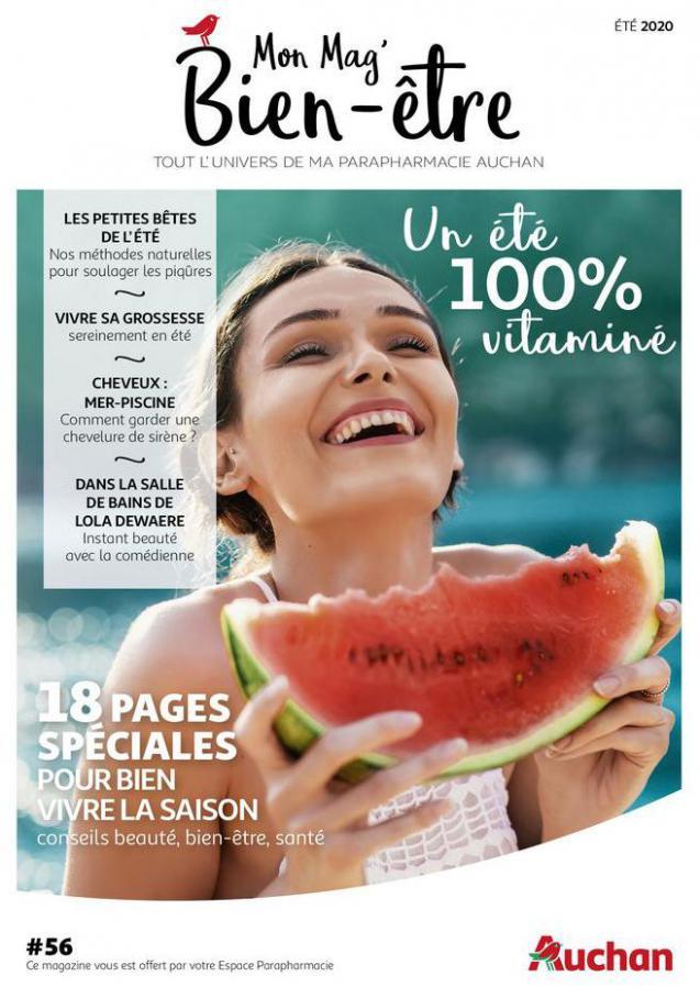 Mon Mag Bien-être été 2020 . Auchan (2020-08-31-2020-08-31)