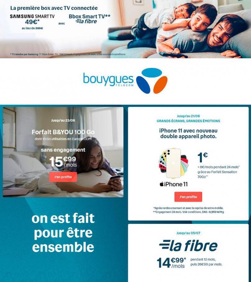 Offres Bouygues Telecom . Bouygues Telecom (2020-07-20-2020-07-20)