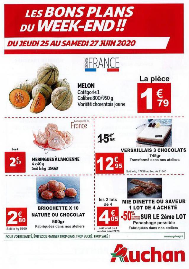 Auchan Le Pontet du 25 au 27 juin 20  . Auchan Direct (2020-06-27-2020-06-27)
