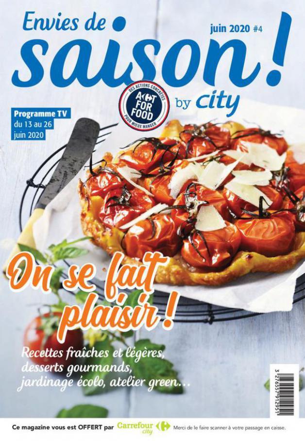 City Hebdo S18 . Carrefour City (2020-06-26-2020-06-26)