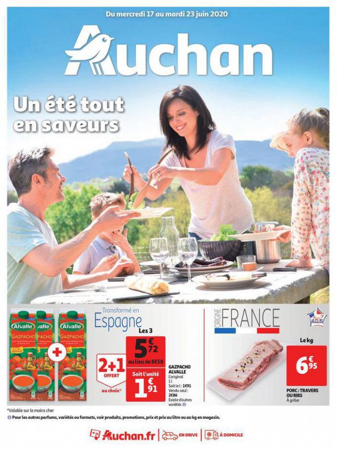 Un été tout en saveurs . Auchan (2020-06-23-2020-06-23)
