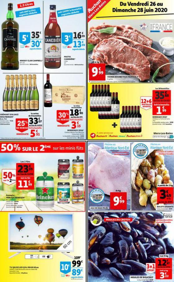 OFFRES VALABLES DU 26 AU 28 JUIN 2020 . Auchan Direct (2020-06-28-2020-06-28)
