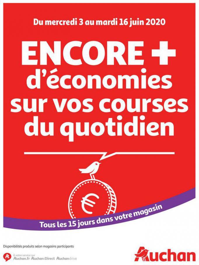 Des économies au quotidien . Auchan (2020-06-16-2020-06-16)