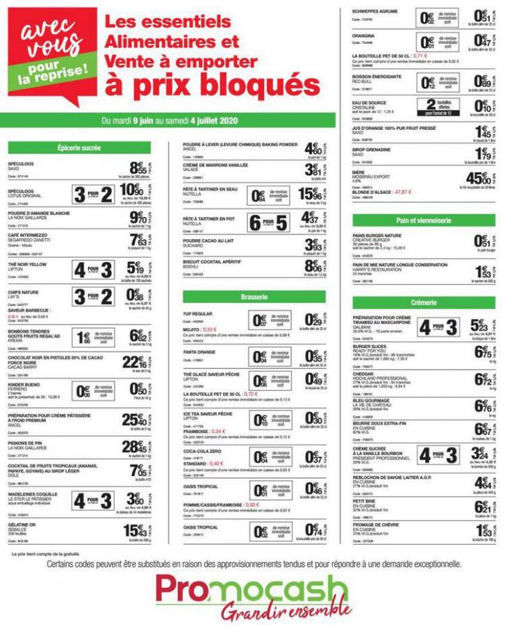 Catalogue Promocash . Promocash (2020-07-04-2020-07-04)