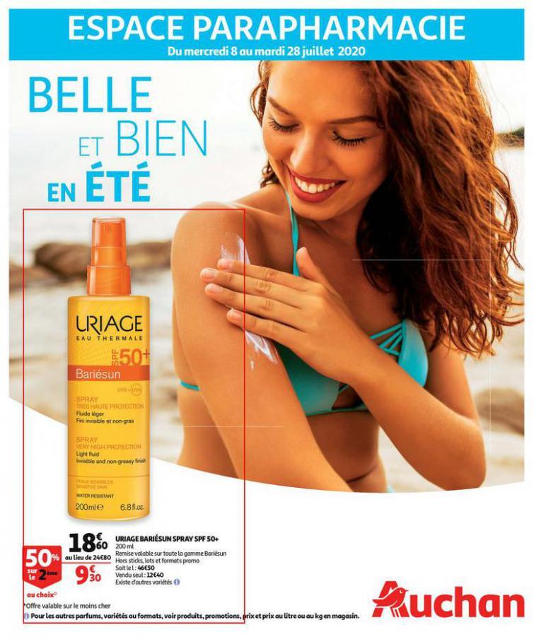 Belle et bien en été . Auchan (2020-07-28-2020-07-28)