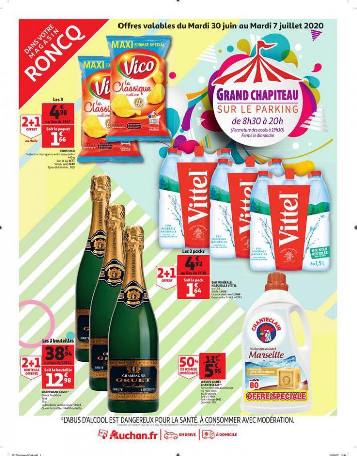 Chapiteau Juillet . Auchan Direct (2020-07-07-2020-07-07)