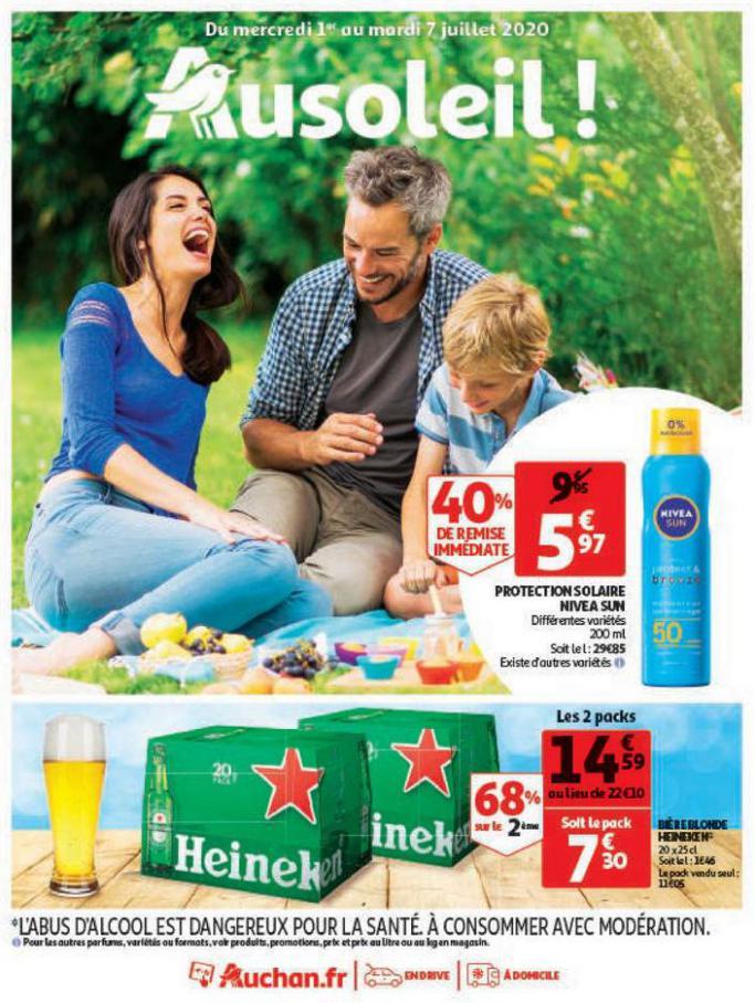 Au soleil ! . Auchan (2020-07-07-2020-07-07)