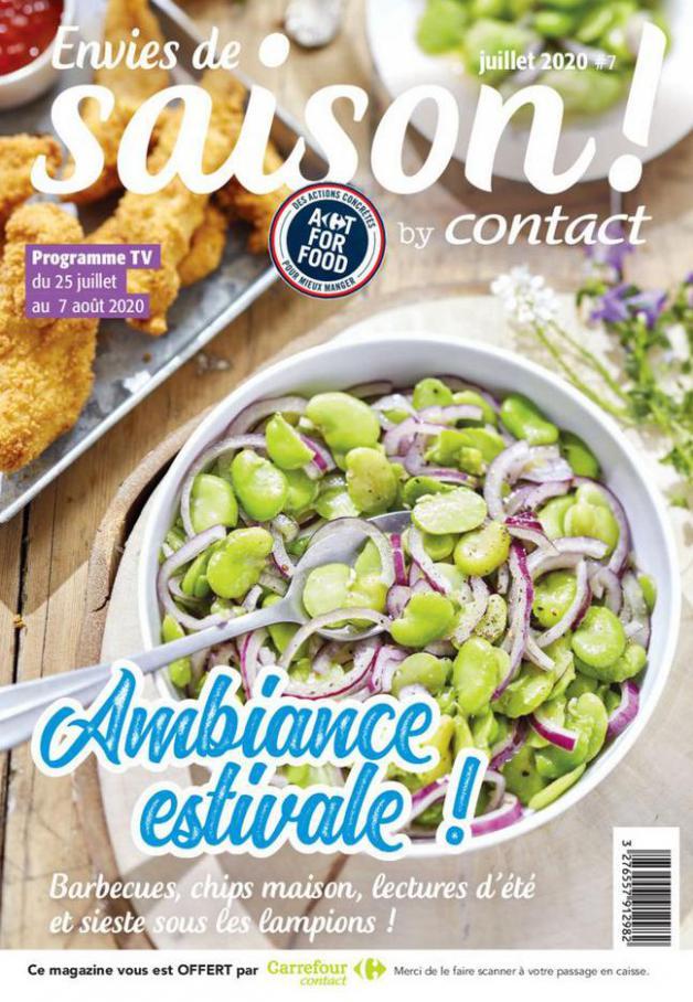 Contact Bi-mensuel S32/S33 . Carrefour Contact (2020-08-07-2020-08-07)