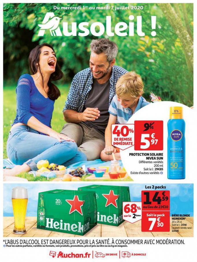 Au soleil ! . Auchan Direct (2020-07-07-2020-07-07)