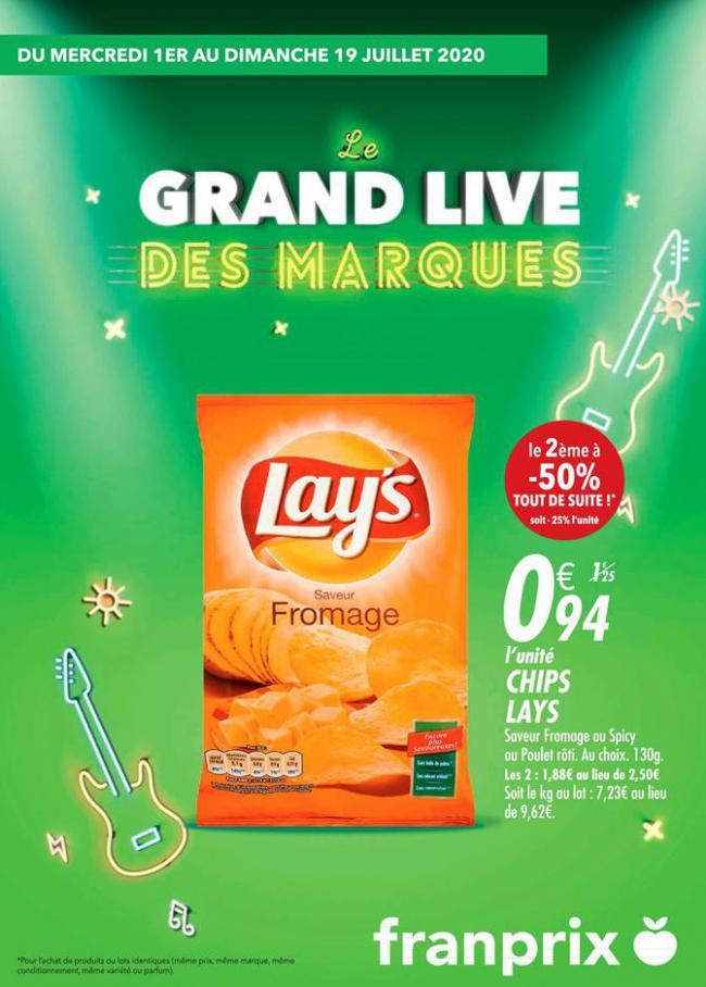 Le grand live des marques . franprix (2020-07-19-2020-07-19)