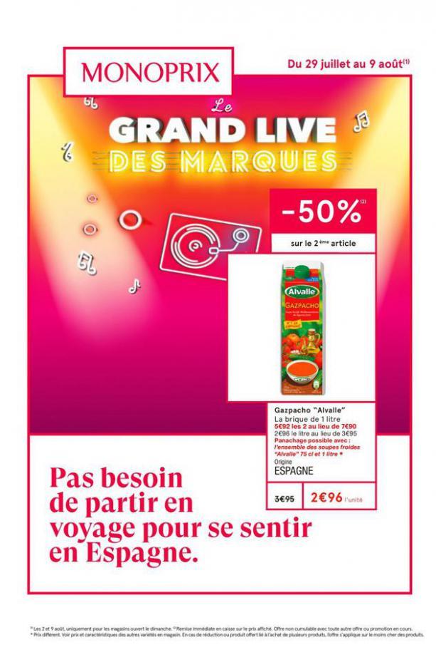 Le grand live des marques . Monoprix (2020-08-09-2020-08-09)
