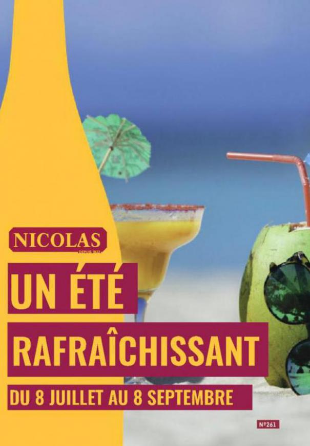 Un été rafraîchissant  . Nicolas (2020-09-08-2020-09-08)