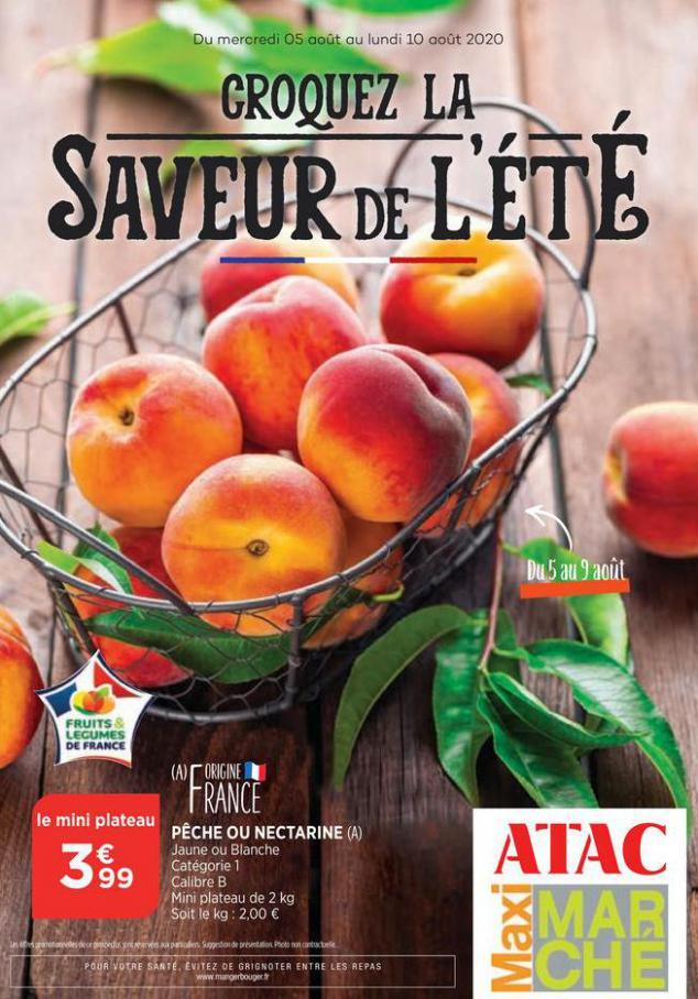 Catalogue Maximarché . Maximarché (2020-08-10-2020-08-10)