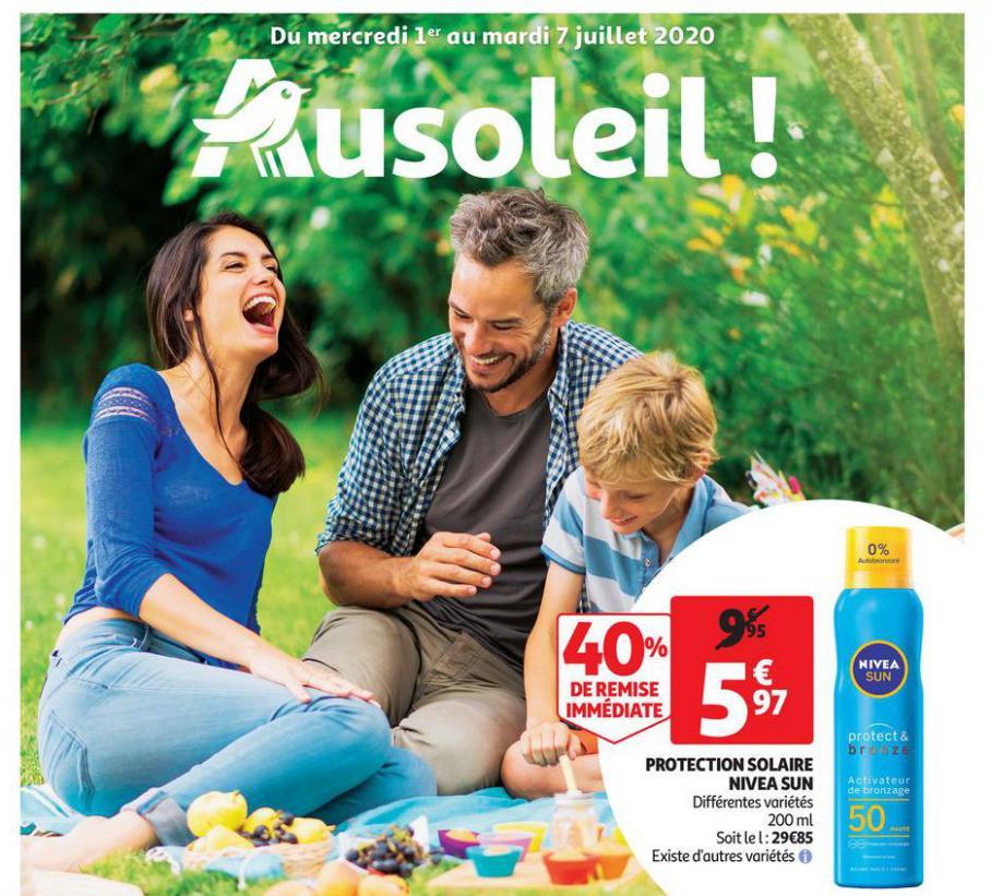 Les promotions de la parfumerie . Auchan Direct (2020-07-18-2020-07-18)