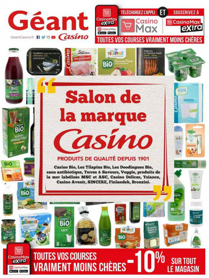 Salon de la marque Casino . Géant Casino (2020-07-26-2020-07-26)