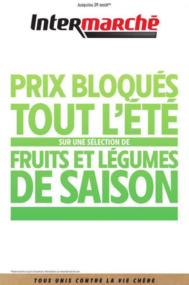 FRUITS ET LÉGUMES DE SAISON . Intermarché (2020-08-29-2020-08-29)