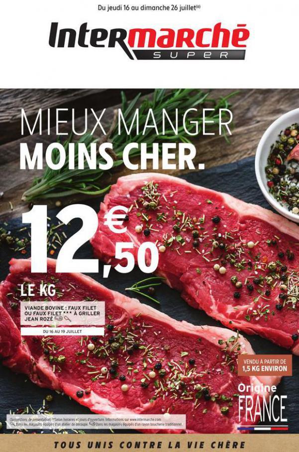 MIEUX MANGER MOINS CHER. . Intermarché (2020-07-26-2020-07-26)