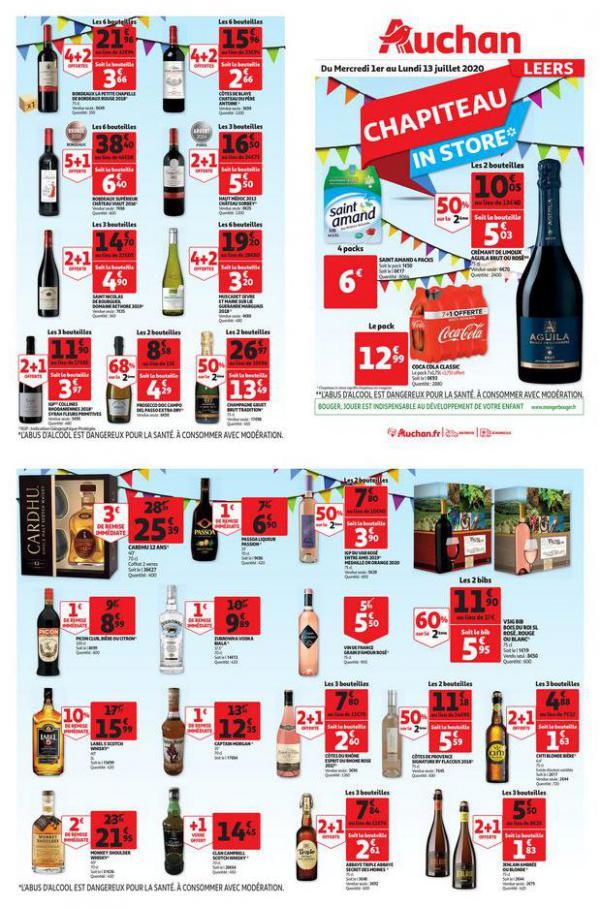Opération chapiteau en magasin . Auchan Direct (2020-07-13-2020-07-13)