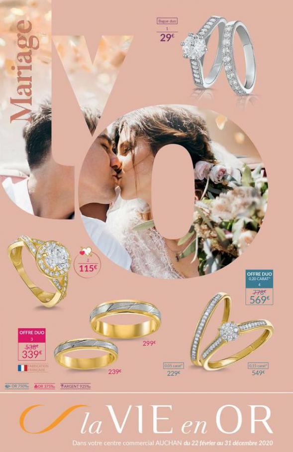 Instant de Vie Mariage 2020 . Auchan (2020-12-31-2020-12-31)