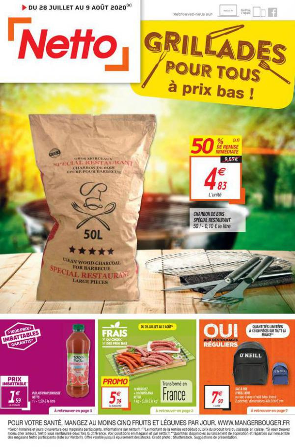 Catalogue Netto . Netto (2020-08-09-2020-08-09)