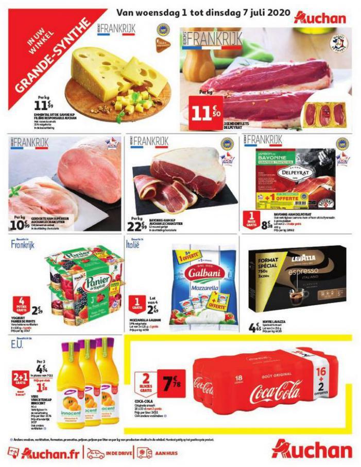 Sélection spéciale . Auchan Direct (2020-07-07-2020-07-07)