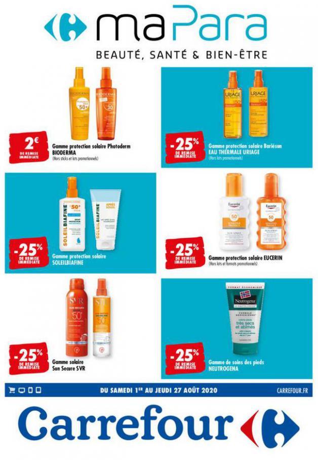 MA PARA, BEAUTE, SANTE & BIEN-ETRE . Carrefour (2020-08-27-2020-08-27)