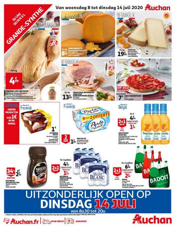 Sélection spéciale . Auchan Direct (2020-07-14-2020-07-14)