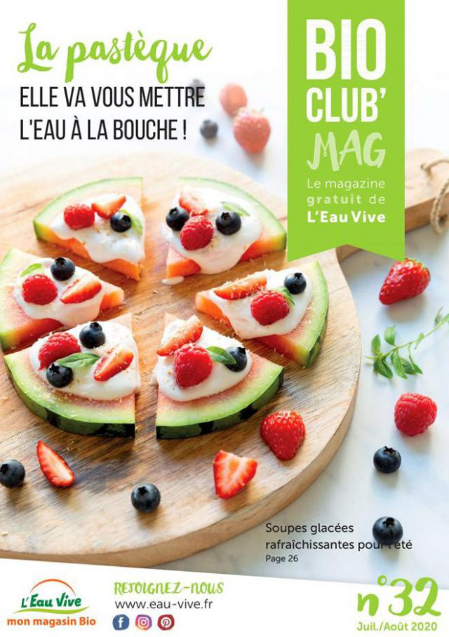 Bio Club Mag  . L'Eau Vive (2020-08-31-2020-08-31)