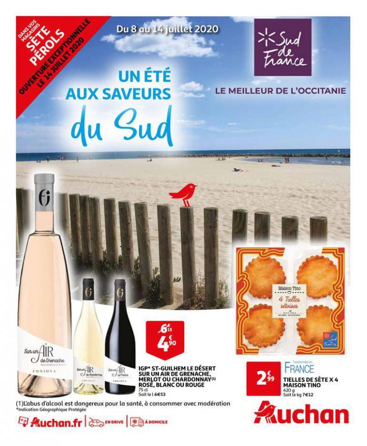 Sud de France 2020 . Auchan Direct (2020-07-14-2020-07-14)