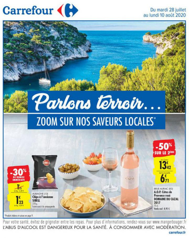 Catalogue Carrefour . Carrefour (2020-08-10-2020-08-10)