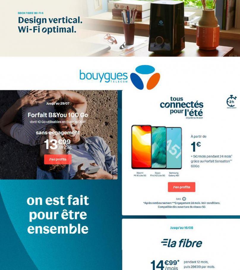 Offres Bouygues Telecom . Bouygues Telecom (2020-08-27-2020-08-27)