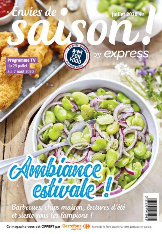 Express Bi-mensuel S32/S33 . Carrefour Express (2020-08-07-2020-08-07)