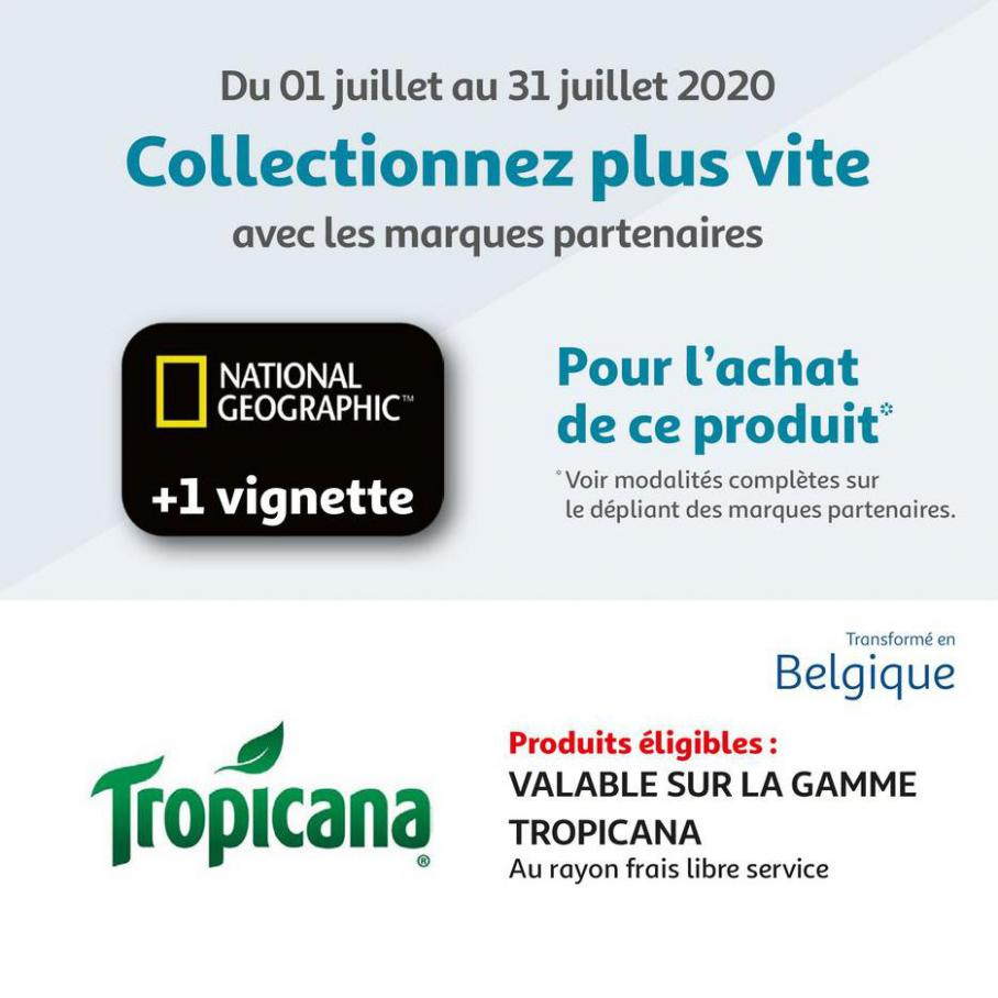 Marques valable op national geographic  . Auchan (2020-07-31-2020-07-31)