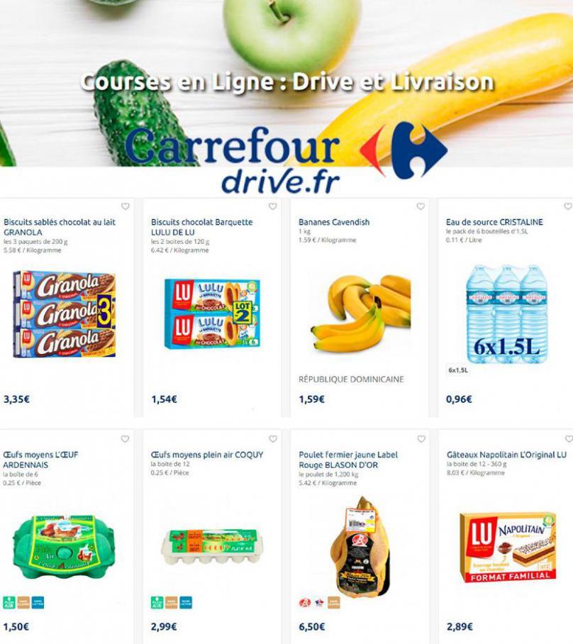 Offres Carrefour Drive . Carrefour Drive (2020-08-24-2020-08-24)