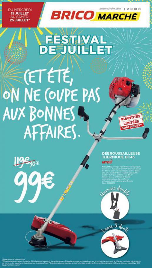 Festival de Juillet . Bricomarché (2020-07-25-2020-07-25)