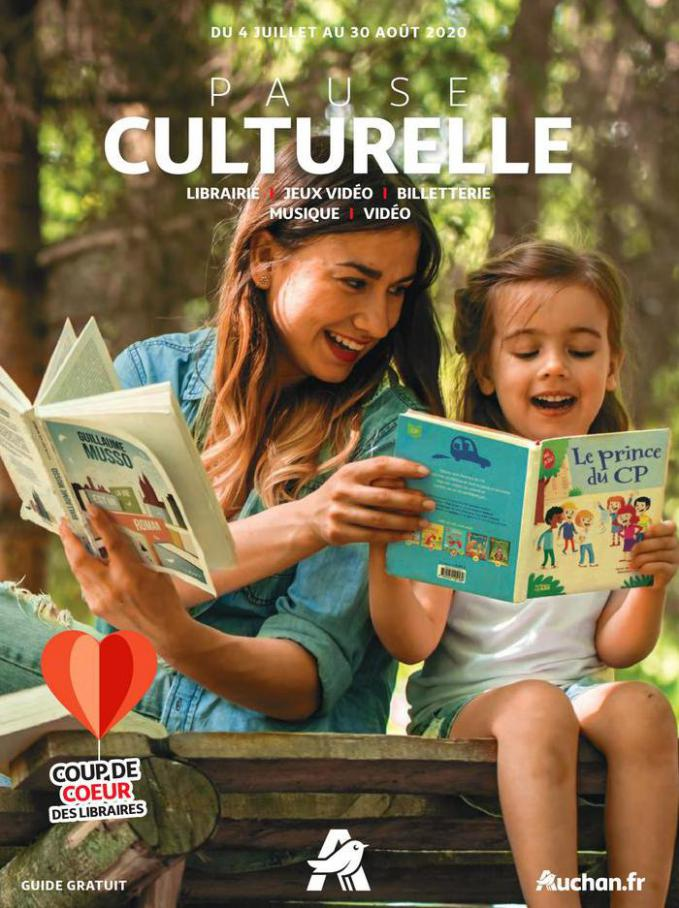 Pause culturelle . Auchan Direct (2020-08-30-2020-08-30)
