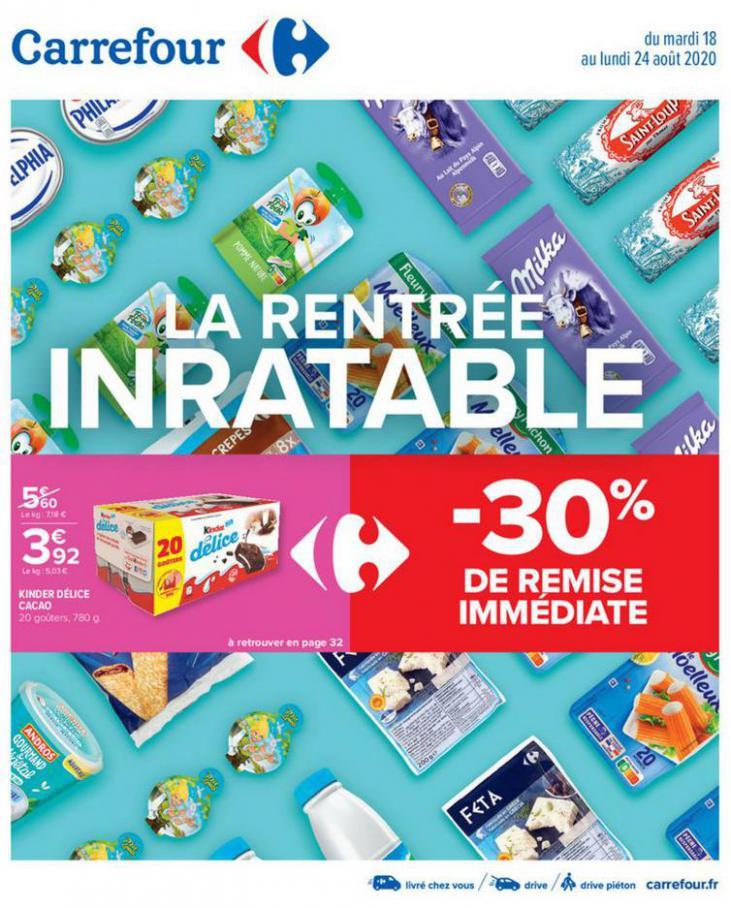 LA RENTRÉE INRATABLE . Carrefour (2020-08-24-2020-08-24)