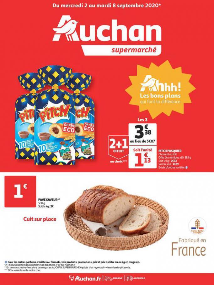 Rentrée 2020 Tous en mode bons plans . Auchan (2020-09-08-2020-09-08)